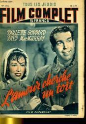 Tous Les Jeudis Film Complet N° 136 - L'Amour Checrhe Un Toit - Couverture - Format classique