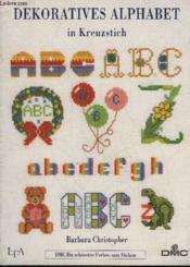 Dekoratives Alphabet In Kreuzstich - Couverture - Format classique