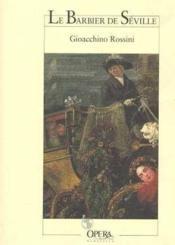Le barbier de seville (nouvelle edition) - Couverture - Format classique