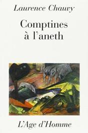 Comptines A L'Aneth - Couverture - Format classique