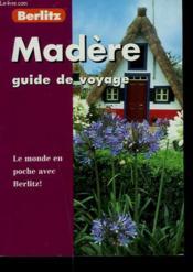 Madere - Couverture - Format classique