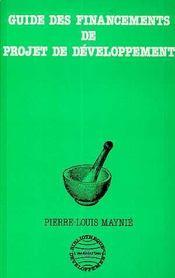 Guide Des Financements De Projet De Developpement - Intérieur - Format classique