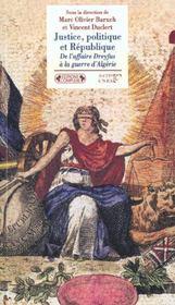 Justice politique et republique - Intérieur - Format classique