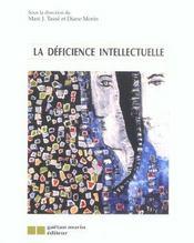 La deficience intellectuelle - Intérieur - Format classique