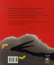 Petit Ane et le grand marabououuuh - 4ème de couverture - Format classique