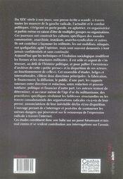 Presse communiste, presse radicale , 1919-2000 ; passé, présent, avenir ? - 4ème de couverture - Format classique