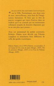 Palerme est un oignon - 4ème de couverture - Format classique