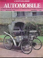 L'Anthologie De L'Automobile N°6 - Couverture - Format classique
