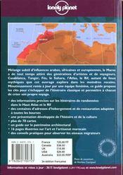 Maroc: Guide De Voyage - 4ème de couverture - Format classique