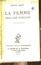 La Femme Chez Les Garcons - Couverture - Format classique