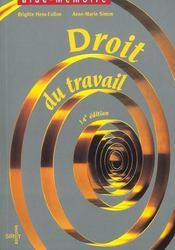 Droit du travail (14e edition) - Intérieur - Format classique