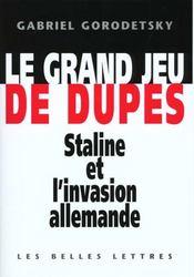 Grand Jeu De Dupes (Le) - Intérieur - Format classique