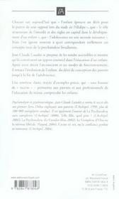 Freud pour les parents - 4ème de couverture - Format classique