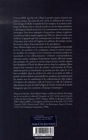 La vie d'artiste au XIX siècle - 4ème de couverture - Format classique