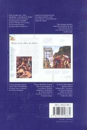 L'Ancien Testament - 4ème de couverture - Format classique