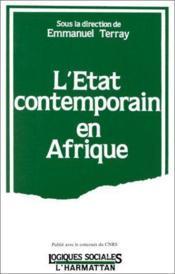 L'Etat comptemporain en Afrique - Couverture - Format classique