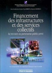 Financement infrastruct & sces collectifs - Couverture - Format classique