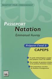 Passeport natation ; oral 2 - Couverture - Format classique