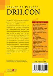 Drh.con - 4ème de couverture - Format classique