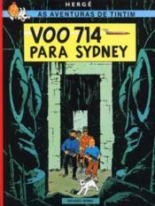 As Aventuras De Tintim T.22 ; Voo 714 Para Sydney - Couverture - Format classique