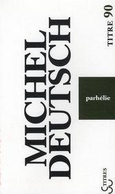 Parhélie - Couverture - Format classique