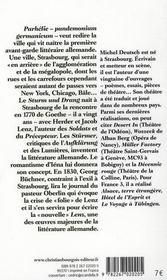 Parhélie - 4ème de couverture - Format classique