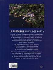 La Bretagne au fil des ports - 4ème de couverture - Format classique