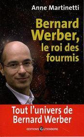 Bernard Werber ; le roi des fourmis - Couverture - Format classique