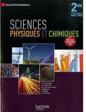 telecharger Sciences physiques et chimiques – 2nde pro – livre de l'eleve livre PDF en ligne gratuit