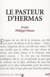 Le Pasteur D Hermas - Couverture - Format classique
