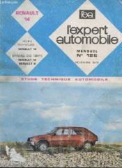 L'Expert Automobile - Mensuel N°126 - Novembre 1976 - Etude Technique Automobile - Renault 14 - Fiche Technique Renault 14 - Couverture - Format classique