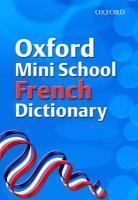 French School Mini Dictionary - Couverture - Format classique
