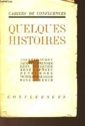 Quelques Histoires - Tome 1 - Couverture - Format classique