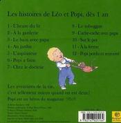 Léo et Popi à la ferme - 4ème de couverture - Format classique