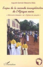 Enjeu de la seconde evangelisation de l'afrique noire -
