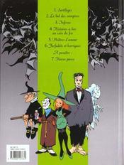 Melusine t.6 ; farfadets et korrigans - 4ème de couverture - Format classique