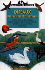Les oiseaux des rivieres et des etangs - Couverture - Format classique