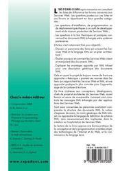 Xml schema et xml infoset pour les services web - 4ème de couverture - Format classique