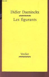 Les figurants - Couverture - Format classique