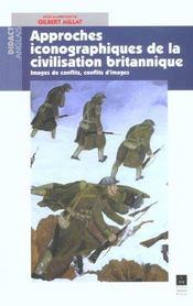 Approches iconographiques de la civilisation britannique images de conflits, conflits d'images - Intérieur - Format classique