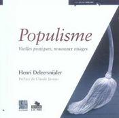 Populisme - Intérieur - Format classique
