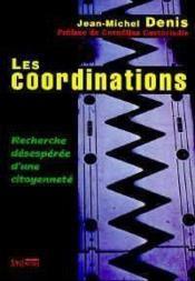 Coordinations - Couverture - Format classique