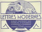 Lettres Modernes. Album N 5 - Intérieur - Format classique