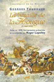 La Bataille De La Hougue - Couverture - Format classique
