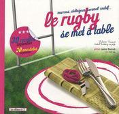 Le rugby se fait à table - Intérieur - Format classique