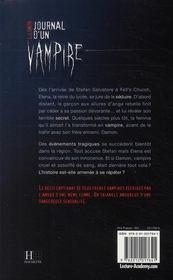 Journal d'un vampire t.1 ; le réveil - 4ème de couverture - Format classique