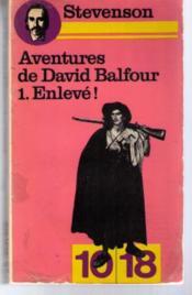 Aventures de David Balfour... - Couverture - Format classique
