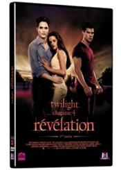 Twilight - Chapitre 4 : Révélation, 1ère Partie - Couverture - Format classique