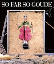 So Far So Goude /Anglais - Couverture - Format classique