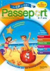 telecharger PASSEPORT – du CP au CE1 – 6/7 ans livre PDF en ligne gratuit